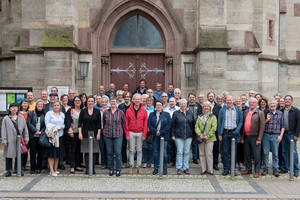 Gruppenfoto des ZFA-TOP-Workshops, 8. und 9. Juni 2015 in Eisenach